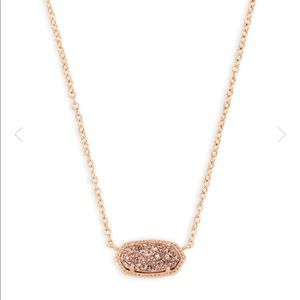 Kendra Scott: Elisa Rose Gold Pendant Necklace
